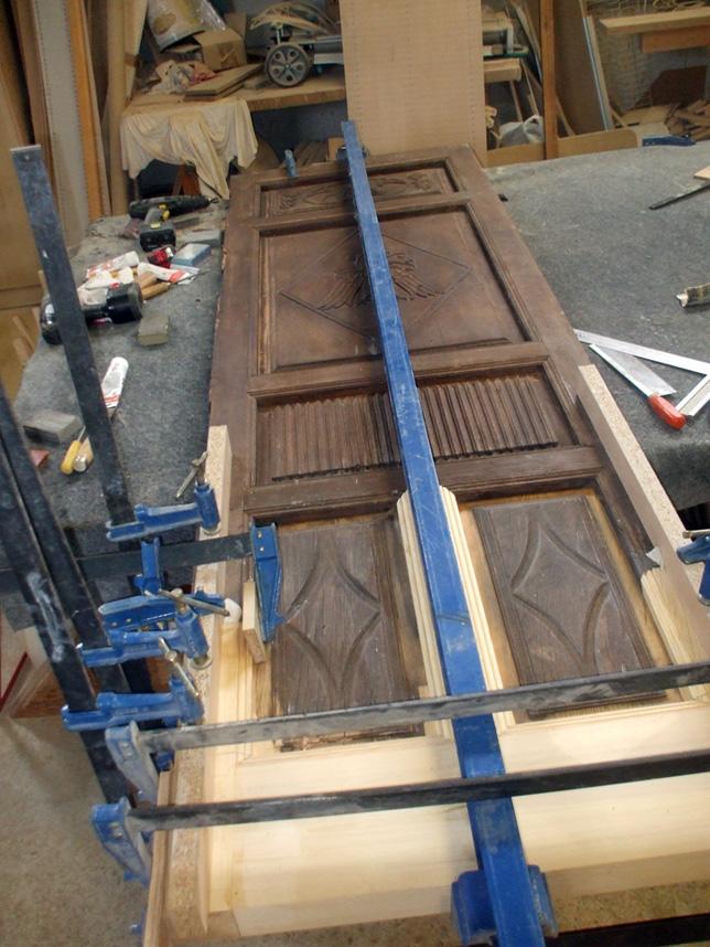 Restauraci n de muebles - Como restaurar una puerta de madera ...